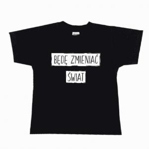 koszulka kidzy-bede zmieniac swiat