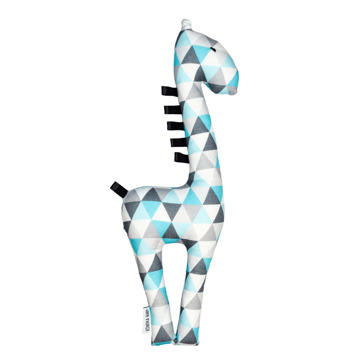Unikalne Żyrafa Metkowiec - Lazurowe Trójkąty - Lululand.pl VM09