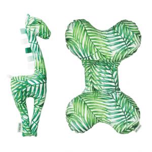 zyrafa poduszka palmy